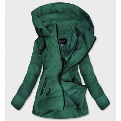 Dámska jesenná bunda zelená (905)