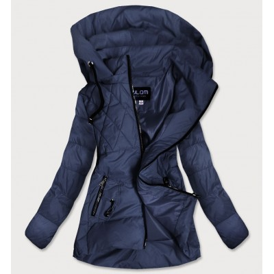 Dámska jesenná bunda tmavomodrá (905)