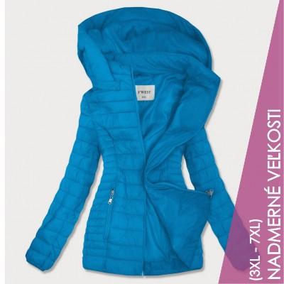 Dámska jesenná bunda modrá  (B0103)