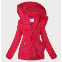 Dámska jesenná bunda ružová (B0103)