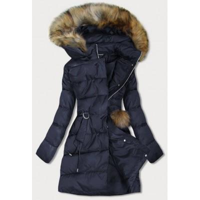 Dámska zimná bunda tmavomodrá (GWW1988)