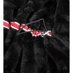 Vodeodolná dámska zimná bunda červená (M-13)