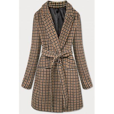 Dámsky kabát hnedý (2720)