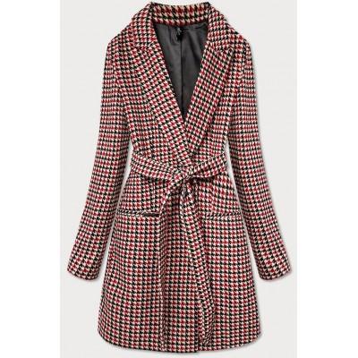 Dámsky kabát červený  (2720)