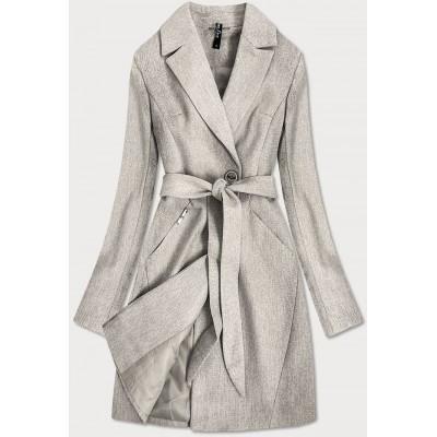 Dámsky kabát béžový (2706)