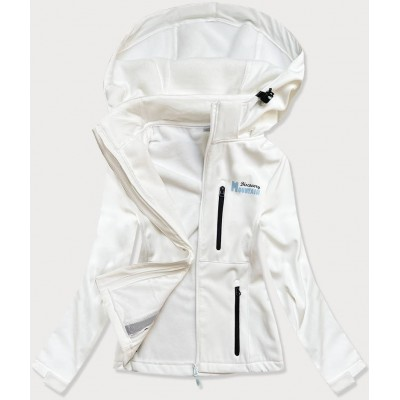 Dámska športová bunda typu softshell biela HH028)