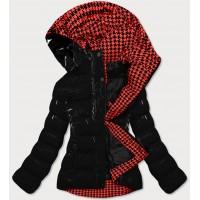 Dámska prešívaná zimná bunda čierna (W807#)