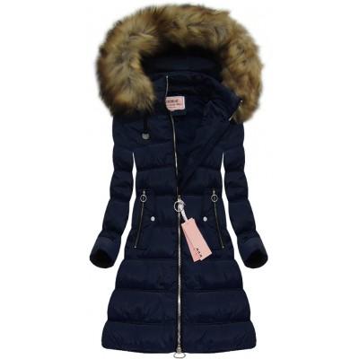 Dámska zimná bunda modrá (W701)