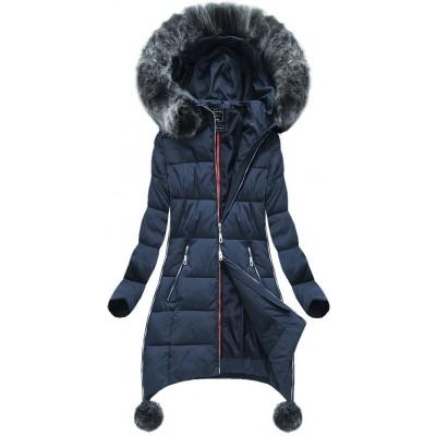 Dámska zimná bunda tmavomodrá (GWW1716)