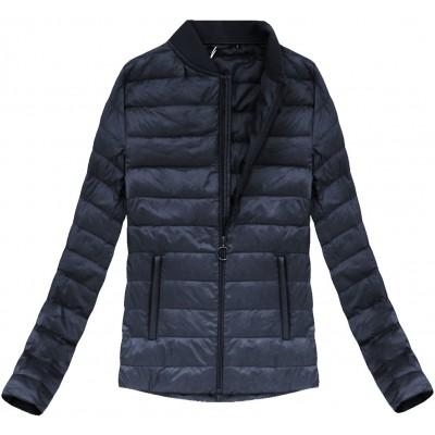 Dámska prechodná bunda tmavomodrá (7099)