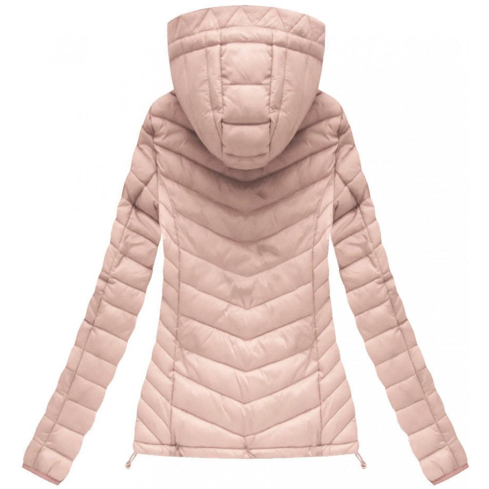 Dámska prechodná bunda ružová (21742) 4bec2af6f5